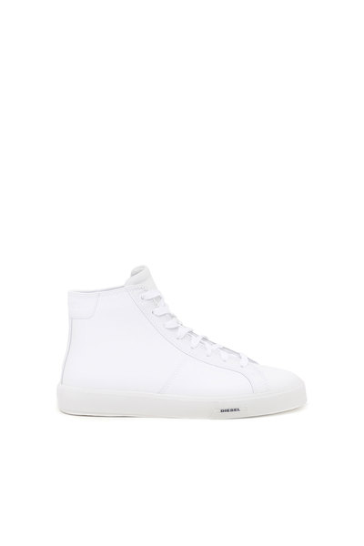 High-Top Sneakers In Leather