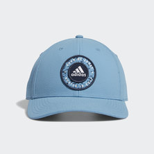 CIRCLE PATCH SNAPBACK HAT