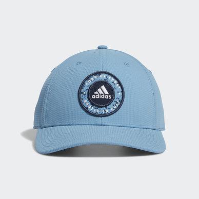 CIRCLE PATCH SNAPBACK HAT