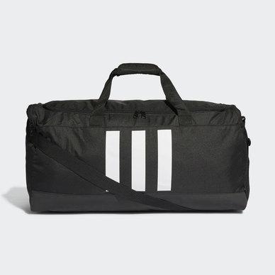 ESSENTIALS 3- STRIPES DUFFLE BAG L