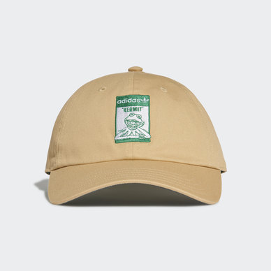 NOT EASY BEING GREEN DAD CAP