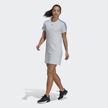 ESSENTIALS CUT 3-STRIPES DRESS