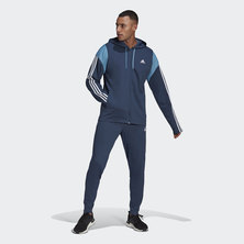 SPORTSWEAR RIBBED INSERT TRACK SUIT