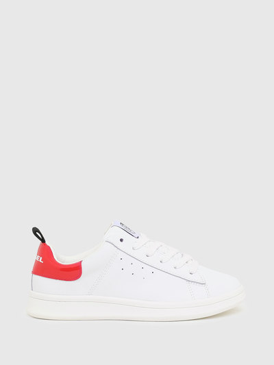 Low Sneakers With Contrasting Heel Tab