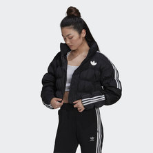 SHORT SYNTHETIC DOWN PUFFER JACKET