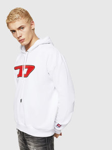 Diesel Logo Hooded Sweatshirt