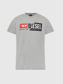 T-Shirt With Dual Logo Print