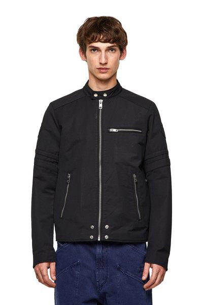Padded Biker-Style Jacket