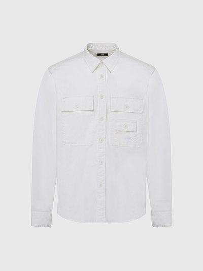 Poplin Shirt With Logo Embroidery