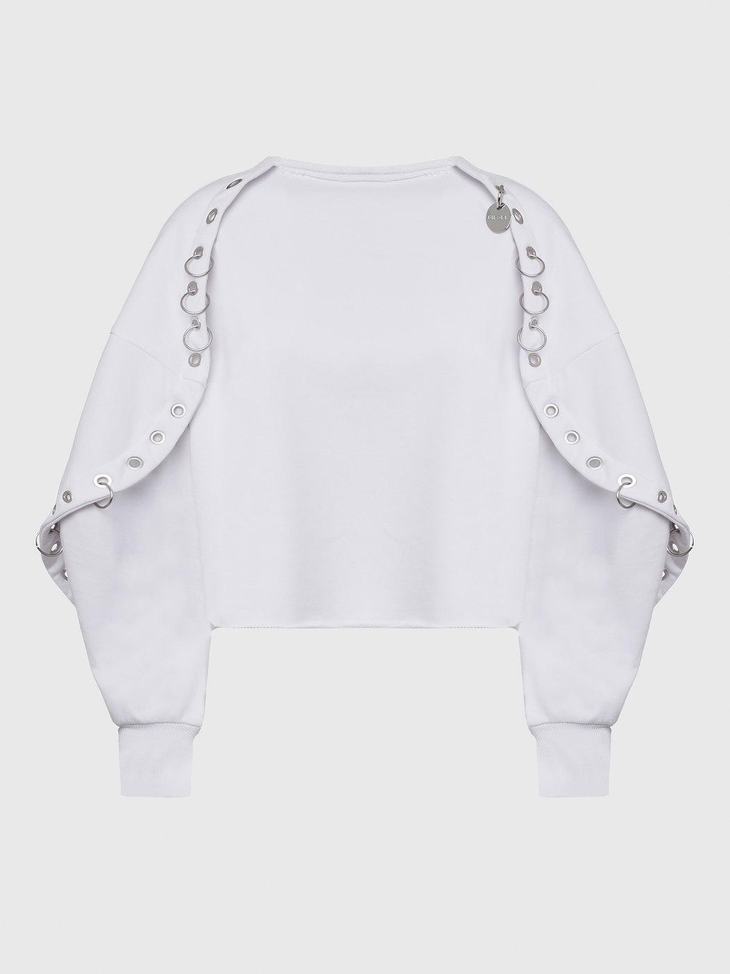 Loopback Cotton Jersey Sweatshirt