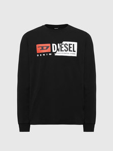 Long-sleeve T-shirt with Double Logo