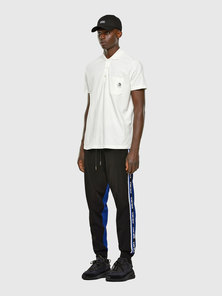 Track Pants With Jacquard Logo Bands