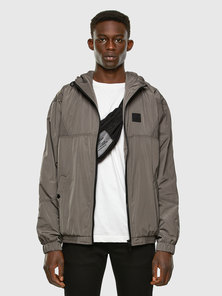 Colour Block Hooded Jacket