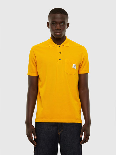 Polo Shirt With Mohawk Patch