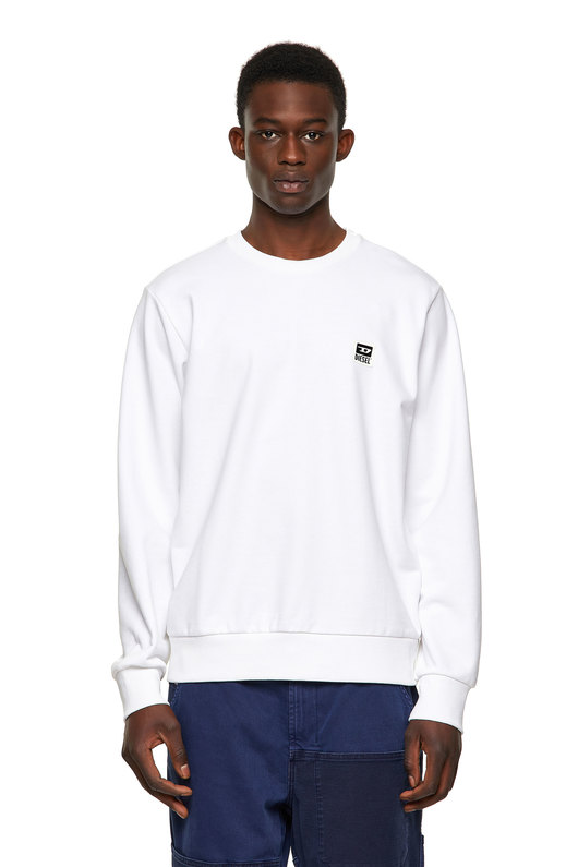 Cotton-Blend Fleece Sweatshirt