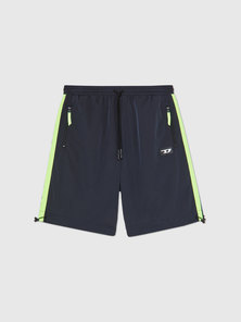 Nylon shorts with Neon Bands