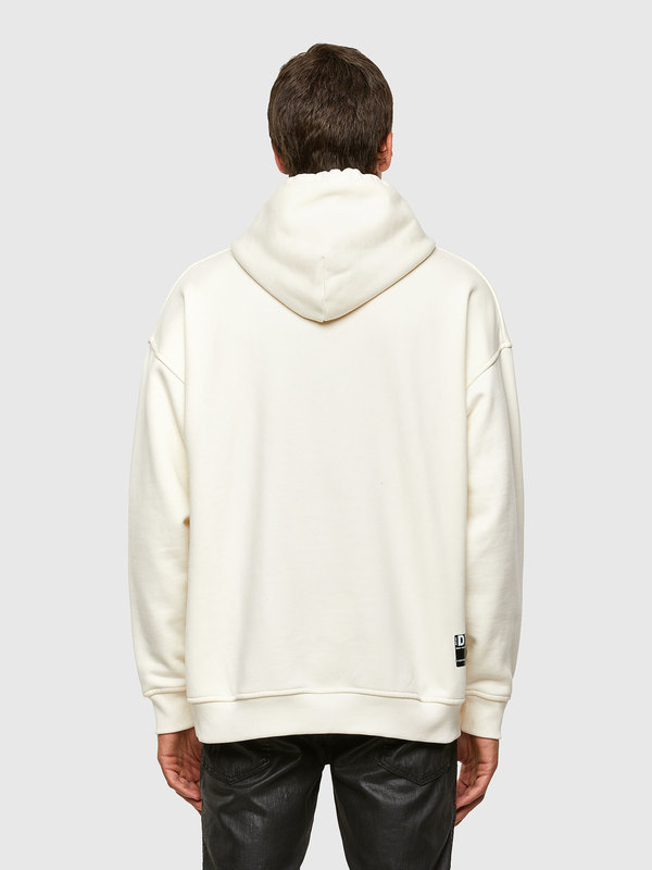 Green Label Hoodie With 3D Mohawk Detail