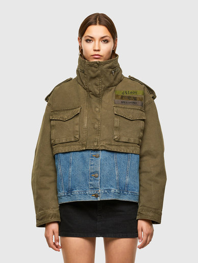 Convertible Jacket With Detachable Liner