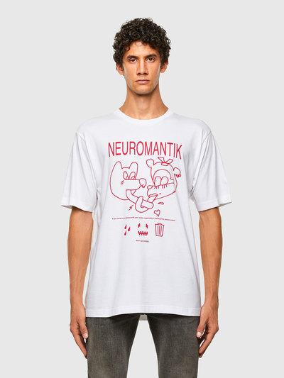 Seamless T-Shirt With Neuromantik Print