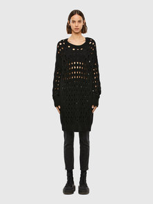 Openwork Sweater In Wool And Nylon