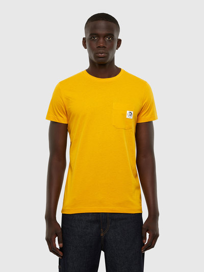 T-Shirt With Mohawk Patch