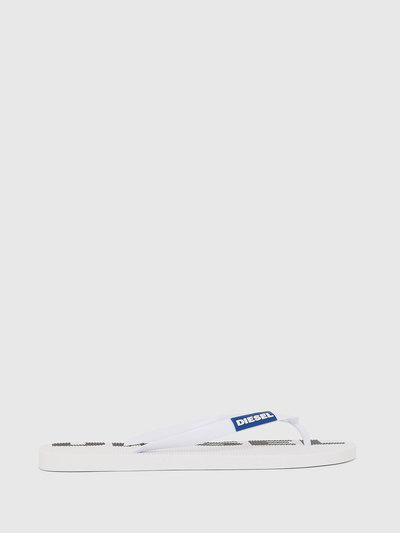 Flip-Flops With Logo Print