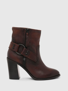 Ankle Boots with Chunky Block Heel