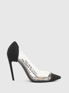 High Pumps In Transparent Pvc