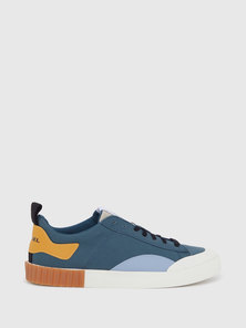 Low-Top Sneakers In Canvas And Cotton