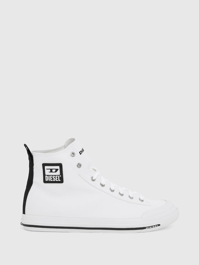 High-Top Sneakers In Lightweight Canvas