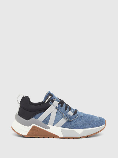 Sneakers In Suede, Lycra And Nylon