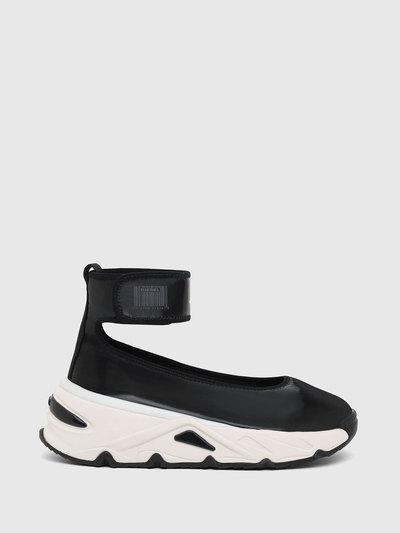 Ballerina Sneakers In Liquid Nylon