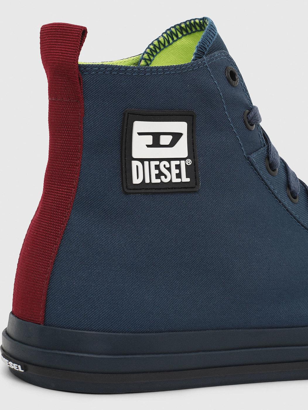High-Top Sneakers In Nylon