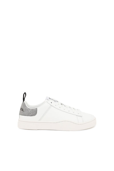 Low-Top Sneakers With Glitter Detail