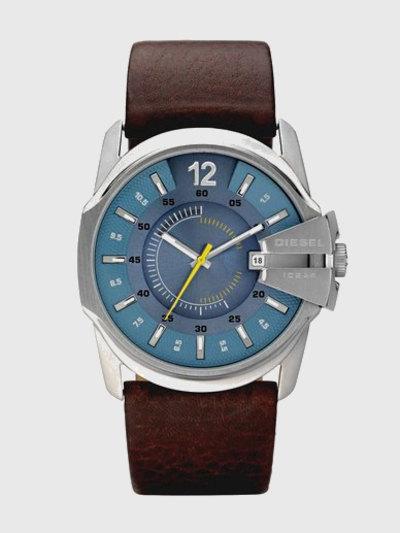 Quartz Analog Leather Watch