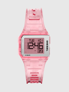 Chopped Digital Silicone Watch