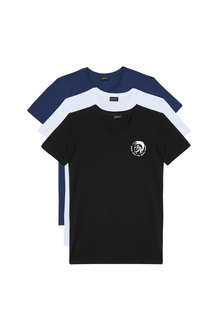 T-Shirt With Mohawk Logo - 3 Pack
