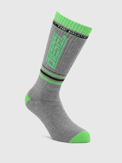 Ribbed Cuff Stretch Cotton Socks