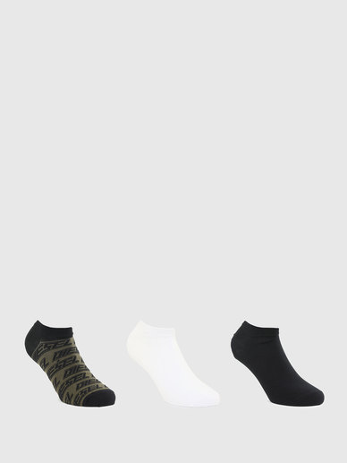 Low-Cut Stretch Cotton Socks - 3 Pack
