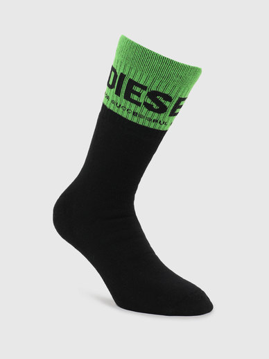 Terry Socks With Contrast Logo Cuff