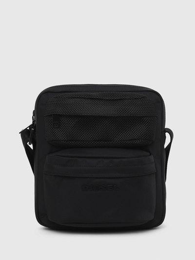 Cross-Body Bag With Mesh Pocket