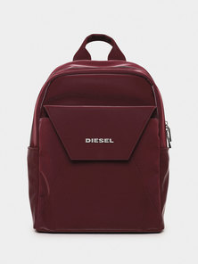 Backpack In Velvety Liquid Nylon