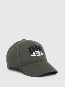 Cotton Twill Cap With Logo Embroidery