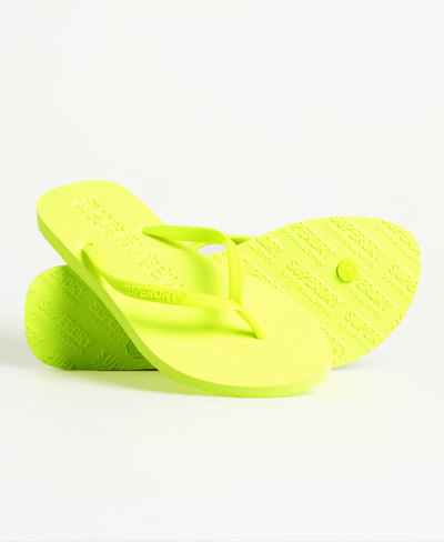 Super Sleek Fluro Flip Flop