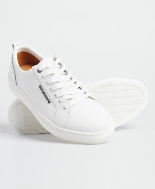 Truman Leather Lace Up Trainers