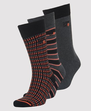Boxed City Sock Triple Pack