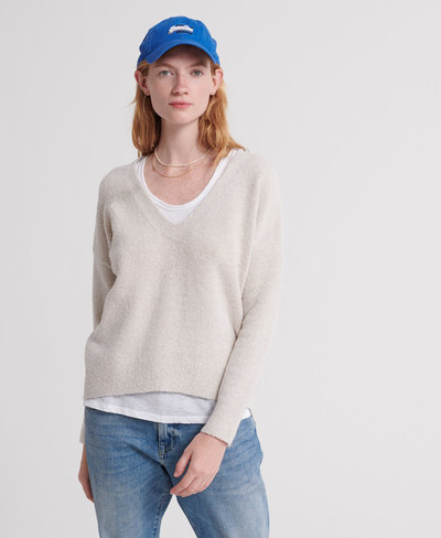 Isabella Slouch Vee Knit