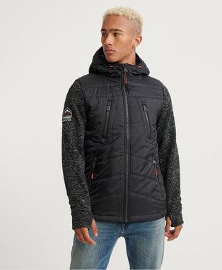 Storm Hybrid Zip hoodie