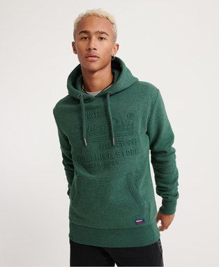 Sweat Shirt Shop Embossed Hoodie