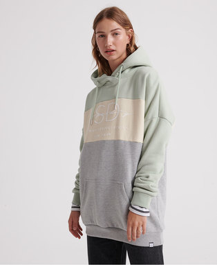 Linnea Colour Block Hood